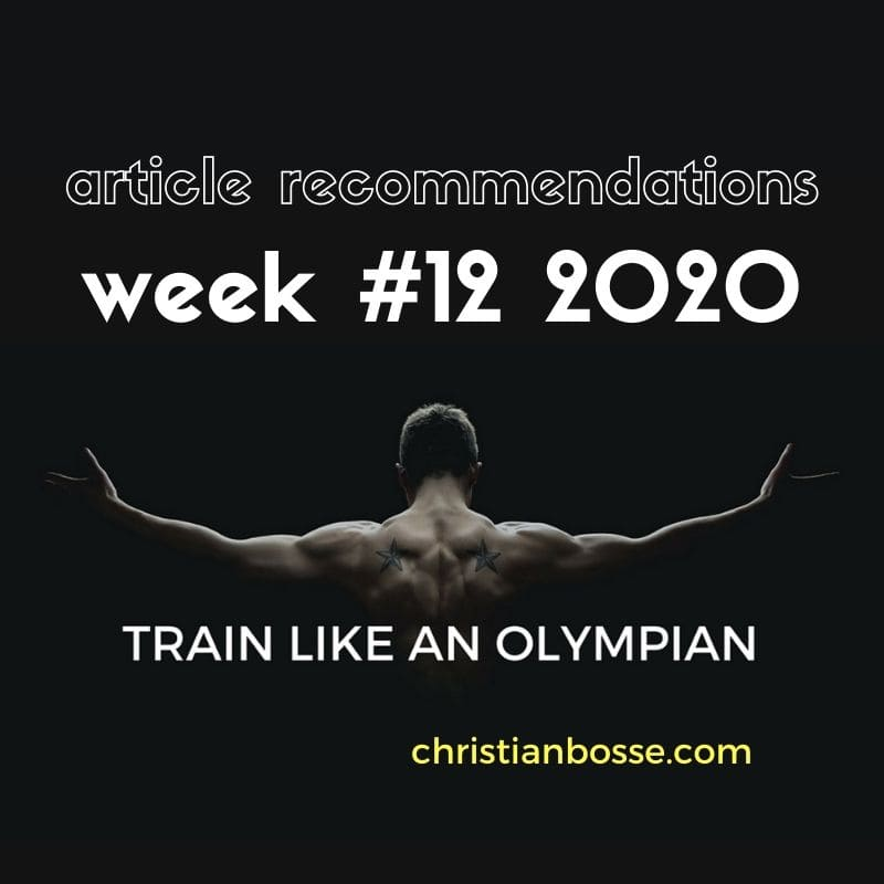 best fitness articles week 12 2020
