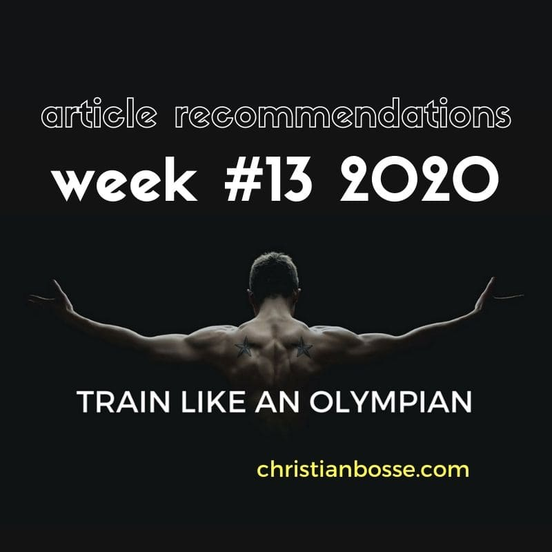 best fitness articles week 13 2020