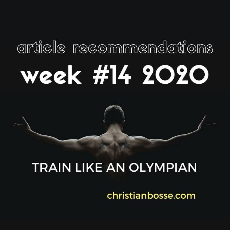 best fitness articles week 14 2020