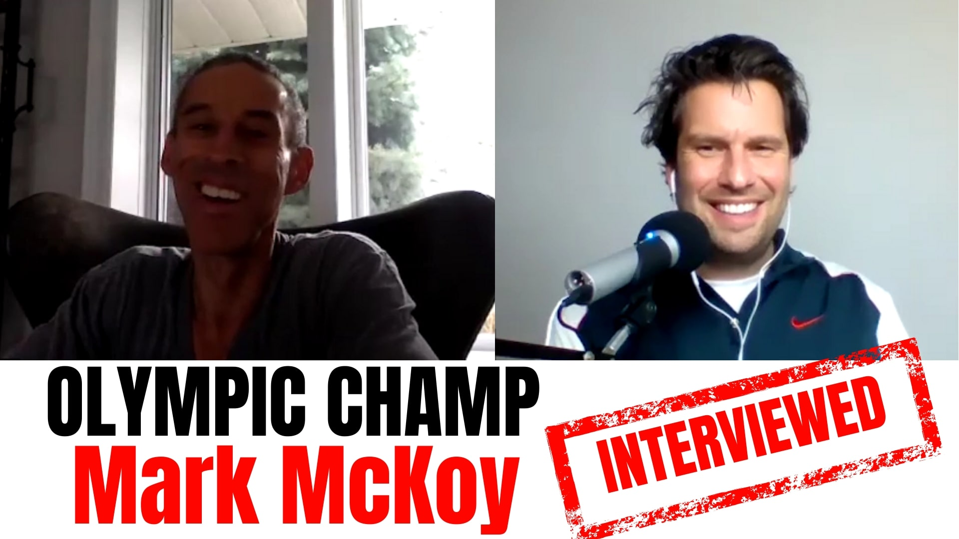 Mark McKoy interview Mark McKoy track and field Mark McKoy 110 meter hurdles