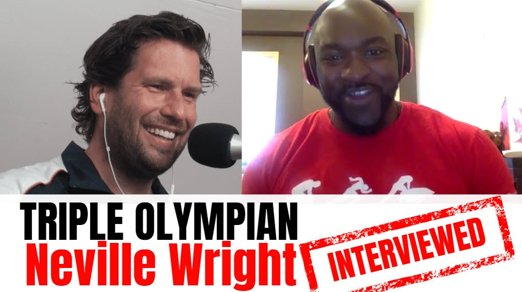 Neville Wright bobsleigh neville wright athlete Neville Wright interview