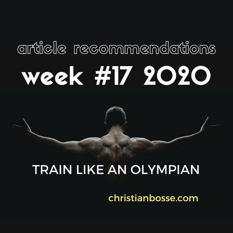 best fitness articles week 17 2020