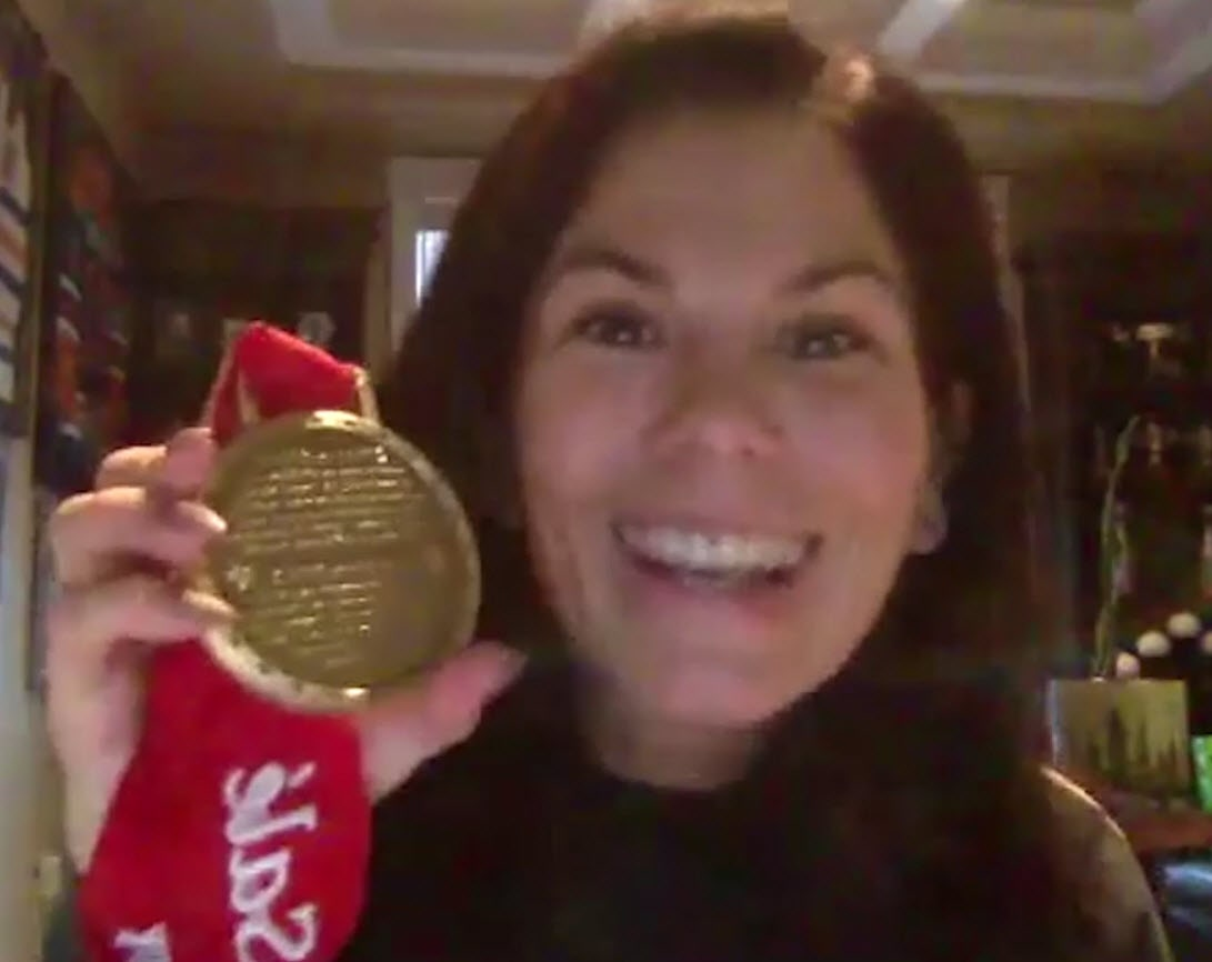 Jaime Sale Jamie Sala gold medal
