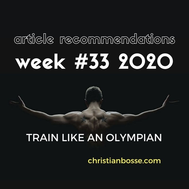 best fitness articles week 33 2020