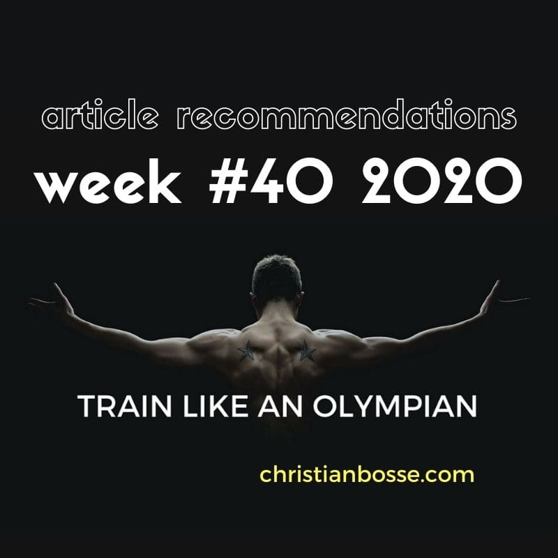 best fitness articles week 40 2020