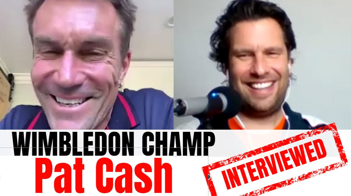 Pat Cash Pat Cash interview