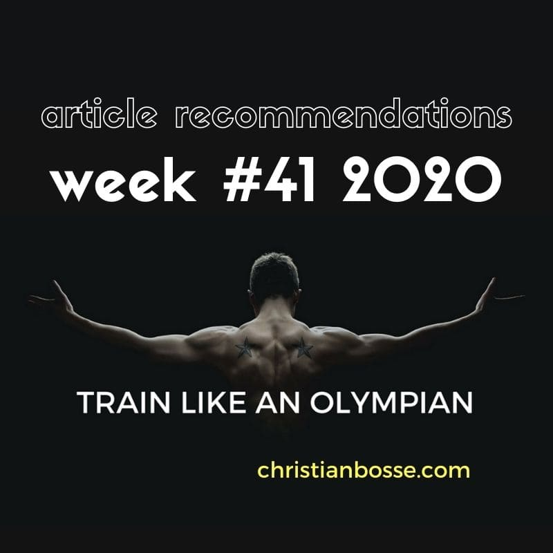 best fitness articles week 41 2020