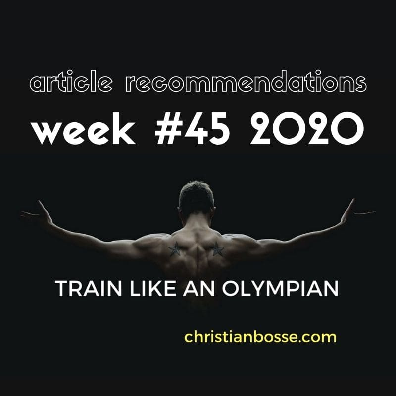 best fitness articles week 45 2020