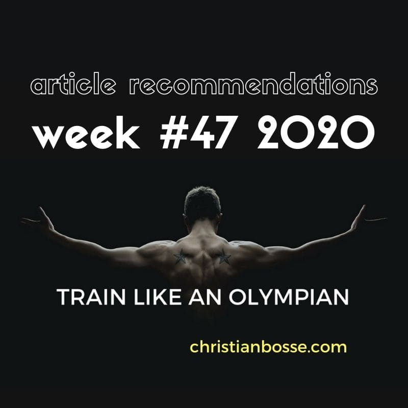 best fitness articles week 47 2020
