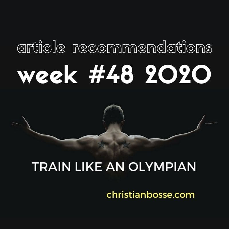 best fitness articles week 48 2020