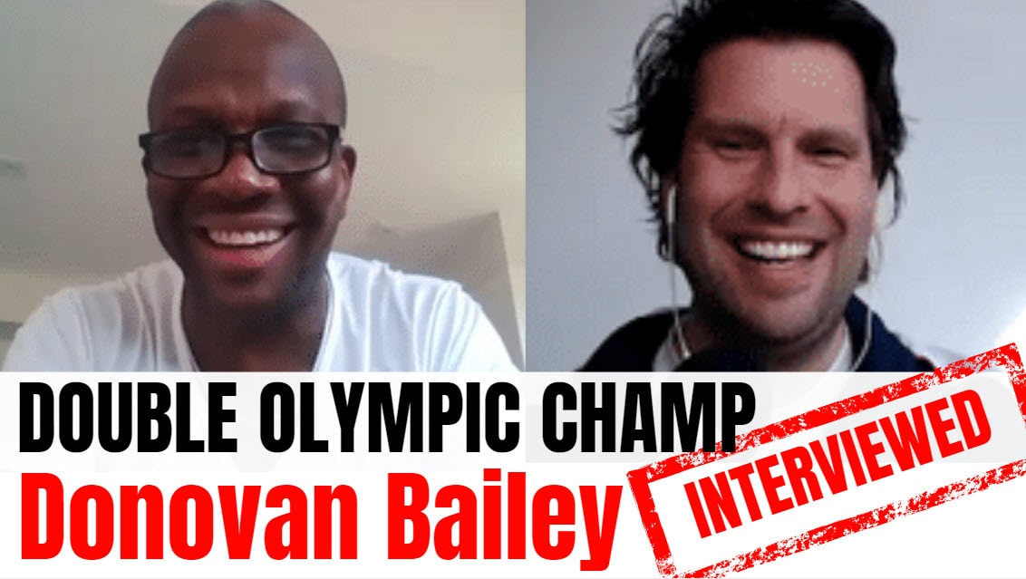 Donovan Bailey Donovan Bailey interview