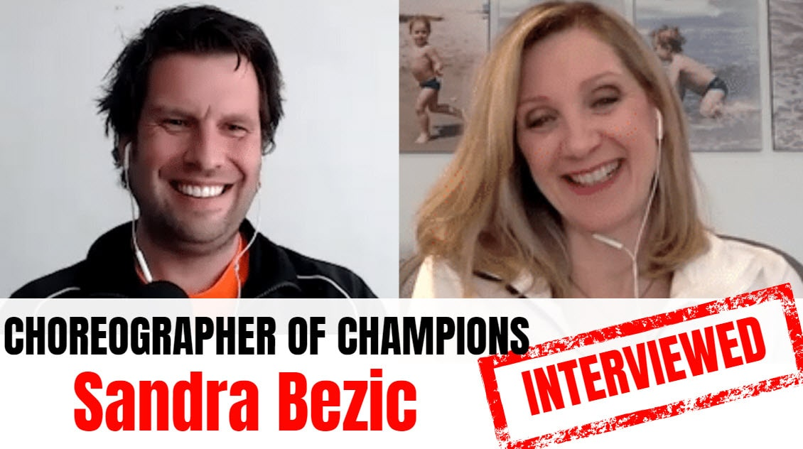 Sandra Bezic Sandra Bezic interview