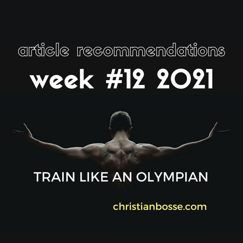 best fitness articles week 12 2021