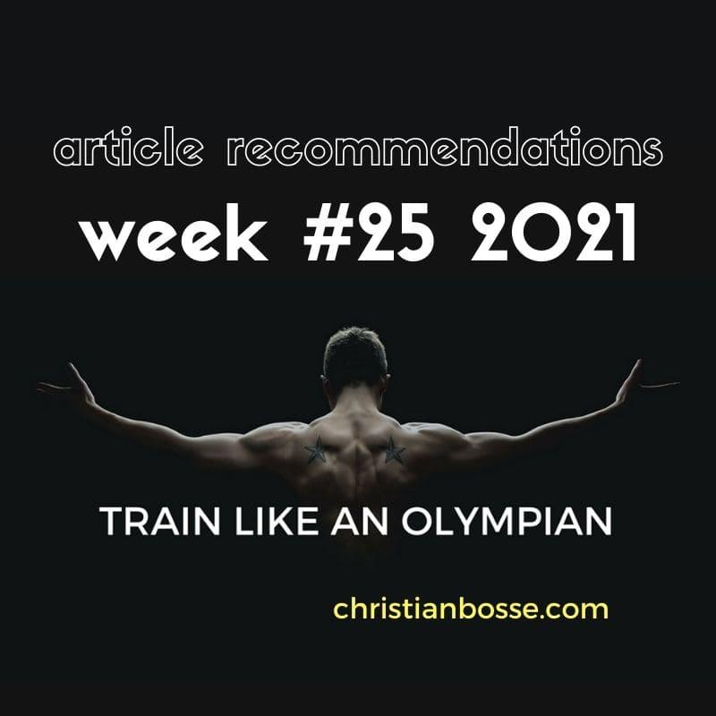 best fitness articles week 25 2021