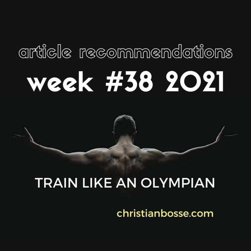 best fitness articles week 38 2021